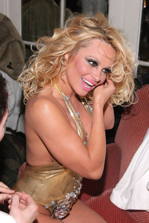Pamela anderson nyc fashion week